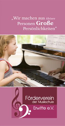 Wir machen aus kleinen Personen große Persönlichkeiten. Förderverein der Musikschule Erwitte e.V.