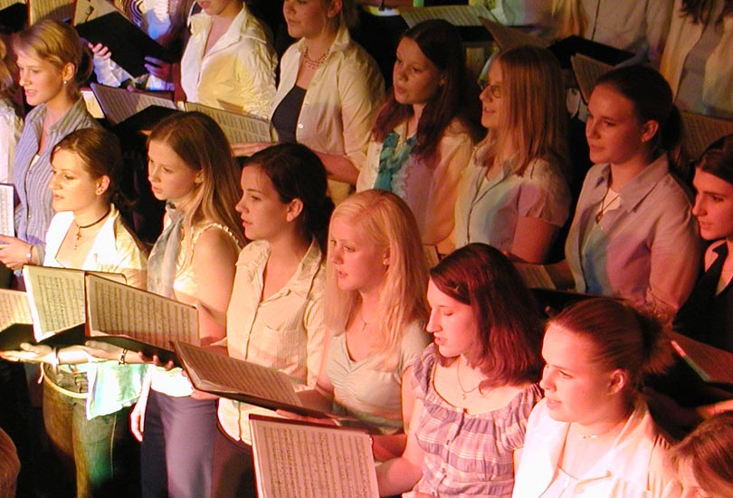 Jugendchor Voices in Harmony 2002