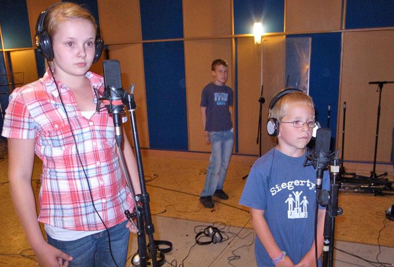 Kinderchor Young Rhythm 2011