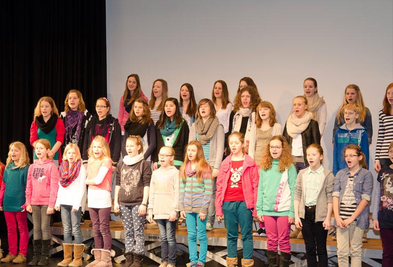 Kinderchor Young Rhythm 2013