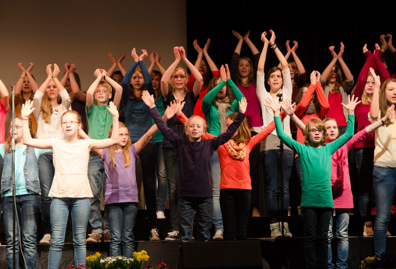 Kinderchor Young Rhythm 2013