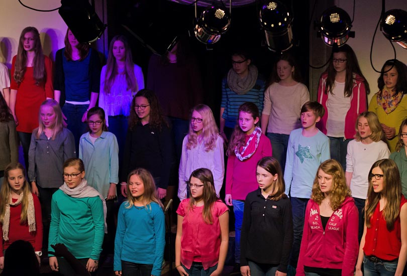 Kinderchor Young Rhythm 2014